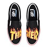 a2f119230d9 Vans x Thrasher Slip-On Pro Sneakers (Thrasher Black) Men s Skate Mag Shoes