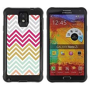 Paccase / Suave TPU GEL Caso Carcasa de Protección Funda para - Gold Purple Grey Blue - Samsung Note 3