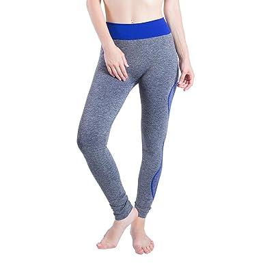 Pantalon de Sport Femmes Gym Yoga Patchwork en Cours d exécution Fitness  Leggings Pantalons athlétique GreatestPAK  Amazon.fr  Vêtements et  accessoires f9ac7b48850