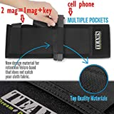 For-Responsible-Guys-That-Keep-Their-Loved-Ones-Safe-Unique-Neoprene-Elastic-Belly-Band-Holster-Waist-Band-Concealed-Carry-Handgun-Pistols-RevolversXL-Storage-4-pockets2-MagGIFT-Paracord-Bracelet