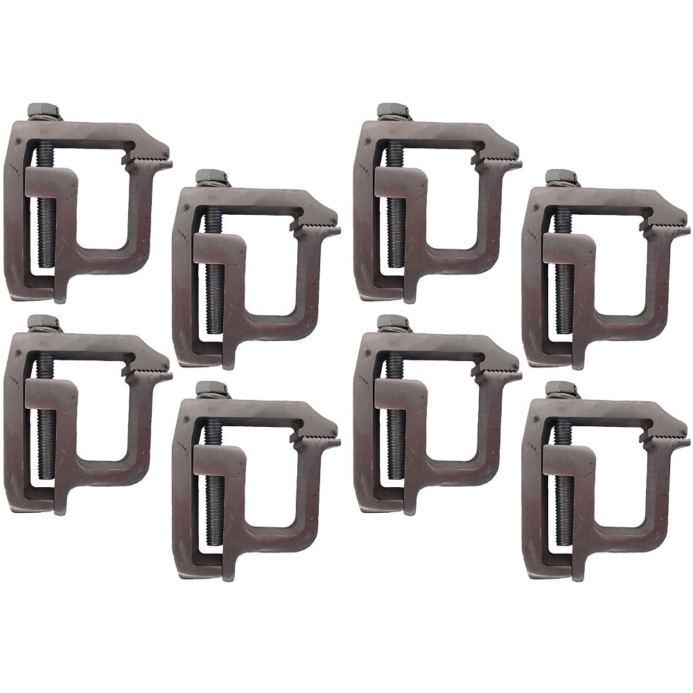 Heavy Duty Truck Cap Topper Camper Shell Mounting Clamps TL-2002 Set of 8