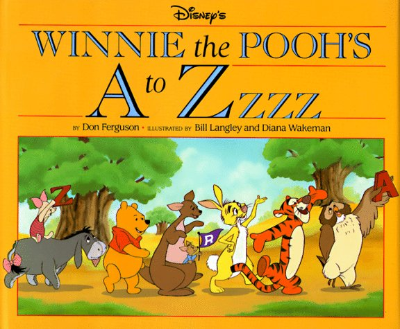 Image for Disney's Winnie the Pooh's A to ZZzz