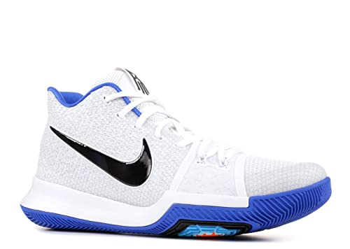 "promo code 689c6 b4d09 Nike Kyrie 3 ""Hyper Cobalt†852395-102 Hyper Cobalt White-Chlorine  Blue-Volt (10)  Buy Online at Low Prices in India - Amazon.in"