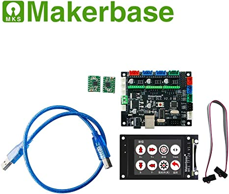 Makerbase MKS DLC+MKS TFT24 CNC GRBL Set: Amazon.es: Informática