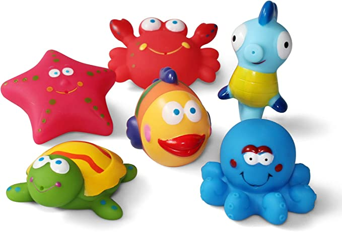 Sticky Tumbling Starfish Children/'s Tumbling Wall Sea Life Party Bag Fish Toy