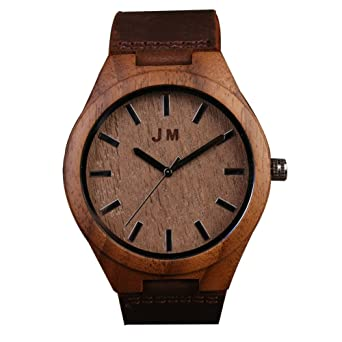 Personalized Groomsmen Gift Custom Engraved Wooden Wrist Watch Retro Fashion Creative Anniversary Gifts For Men