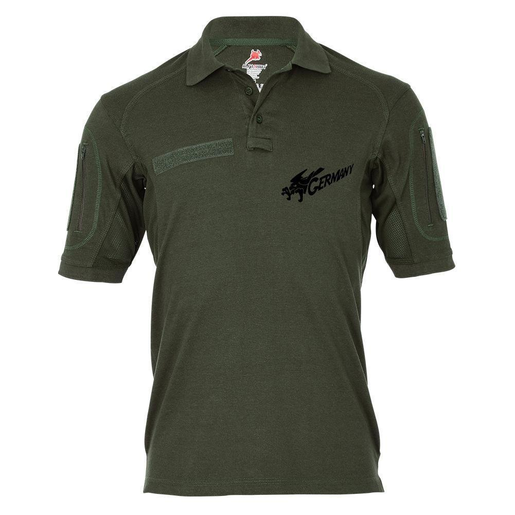 Tactical Poloshirt Alfa - Germany Deutschland Adler Wappentier Vogel  19063