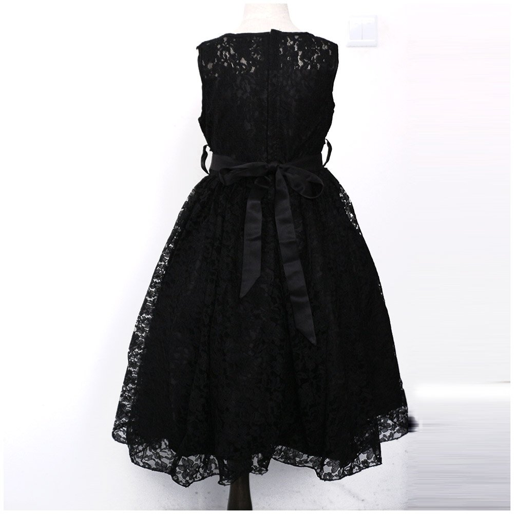 c401bf4e7 Amazon.com  LPATTERN Little Big Girls Solid Tulle Pleated Lace Dress ...