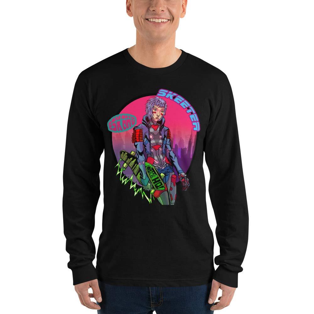 Amazon.com: ElectricSkateHQ Team Skeeter - Camiseta de manga ...