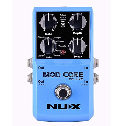 NUX MOD Core DELUXE Chorus/Flanger/Phaser/Rotary Guitar Effect
