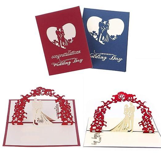 BINGHONG3 - Tarjeta de felicitación para Aniversario, San Valentín ...