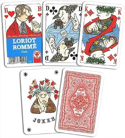Loriot Romme langlonglv--  Altenburger 22571007 Kartenspiel Canasta Bridge