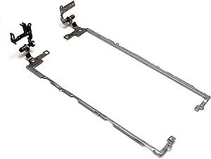 Aquamoon Trading 2MCP4 + PDMMW Genuine OEM Dell Inspiron-15 7557 7559 Top Cover Right + Left Hinge Set + Bracket Pair SZS-AM9-R + SZS-AM9-L FBAM9001010 + FBAM9002010 SZS-L SZS-R