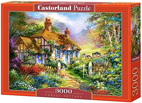 Castorland 3000 Piece Jigsaw Puzzle Landscapes Cities