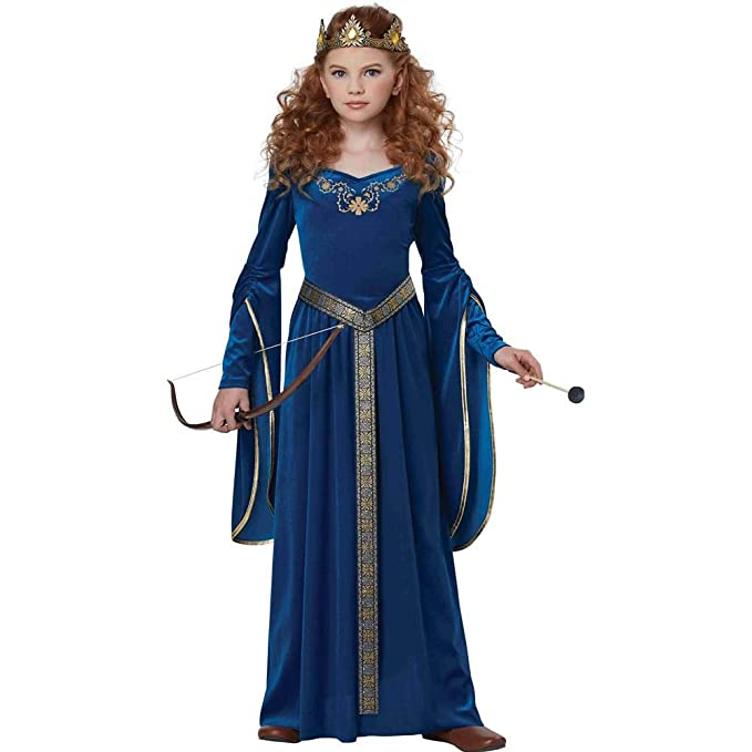 Amazon.com California Costumes Queen Royalty Renaissance Knight Medieval Princess Girls Costume Teal Large Toys u0026 Games  sc 1 st  Amazon.com & Amazon.com: California Costumes Queen Royalty Renaissance Knight ...