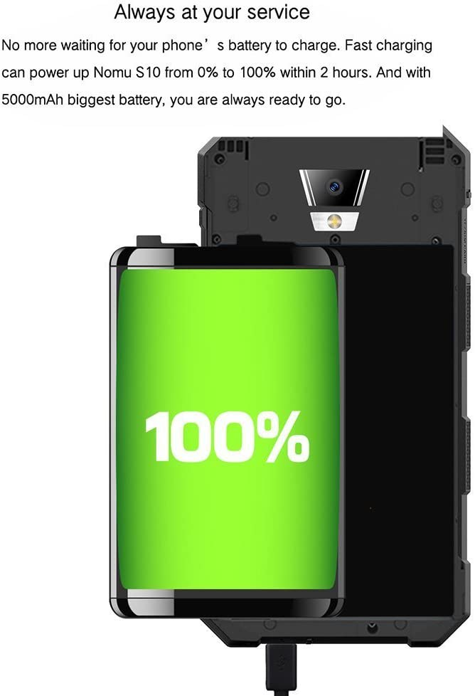 Smartphone Libre -NOMU S10 Smartphone Móvil Libre(2017 Última ...