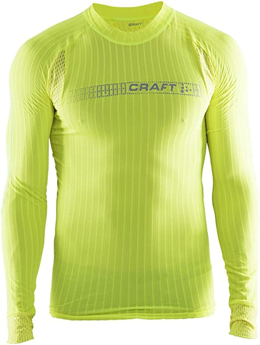 52fcdb5dde Craft Sportswear Men's Active Extreme 2.0 Crewneck Long Sleeve Base Layer  Tight Fit Training Shirt: