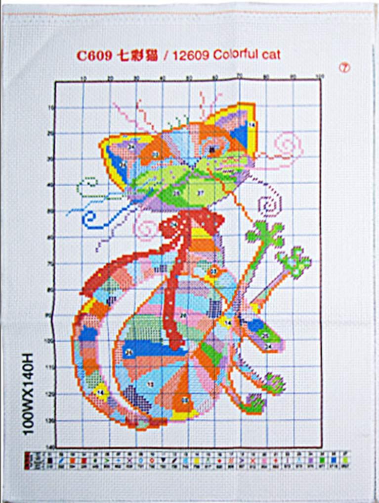 LovetheFamily Hummingbird 33x28cm Cross Stitch Stamped Kits for Beginners 11CT 3 Strands DIY Handmade Needlework Set Cross Stitching Stamped Patterns Embroidery Frameless