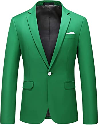 Mens Blazer Slim Fit Sport Coats 22 Colors for Daily Business and Party at  Amazon Men's Clothing store