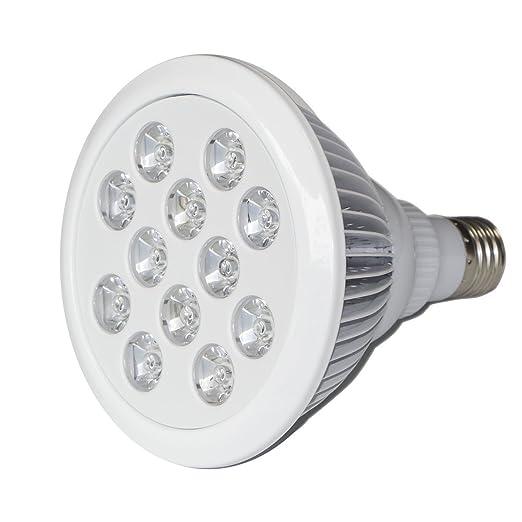 Saebye® Crescita Lampada Per Piante E27 24 W LED Lampada Crescita Piante  Luce Interno Giardino