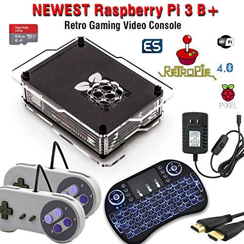 64GB Retropie Raspberry Pi 3 Model B+ Retro Games Video Console Complete Build 50,000+ Games by CrispConcept