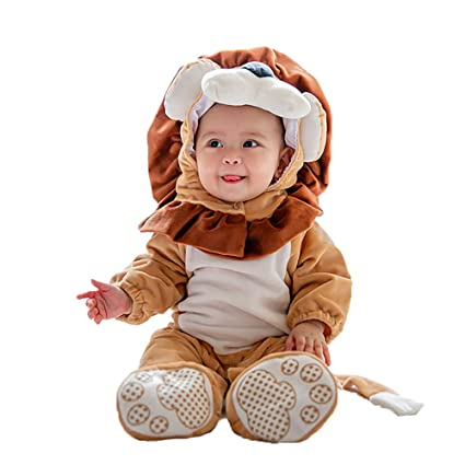 281129bc7 QSEFT Baby Boy Girls Animal Cosplay Rompers Toddler Carnival Halloween  Outfits Boys Shape Costume for Girls