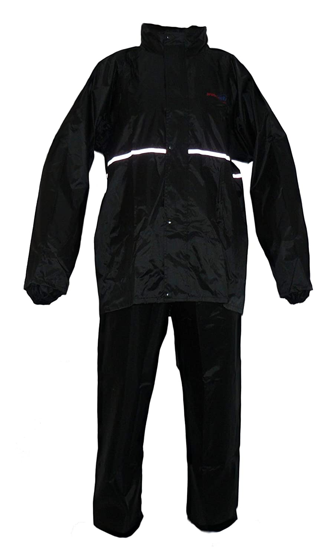 Negro Protectwear RK-RS-11-L Traje de Lluvia para Motocicleta Talla L