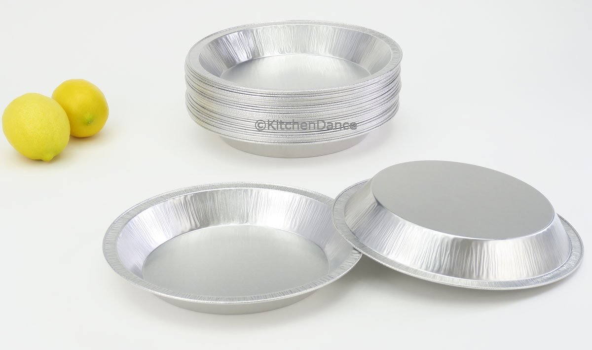 Disposable/Reusable Heavy Duty Aluminum 9'' Pie Pans #922- 24 oz Capacity (200) by Chief (Image #6)