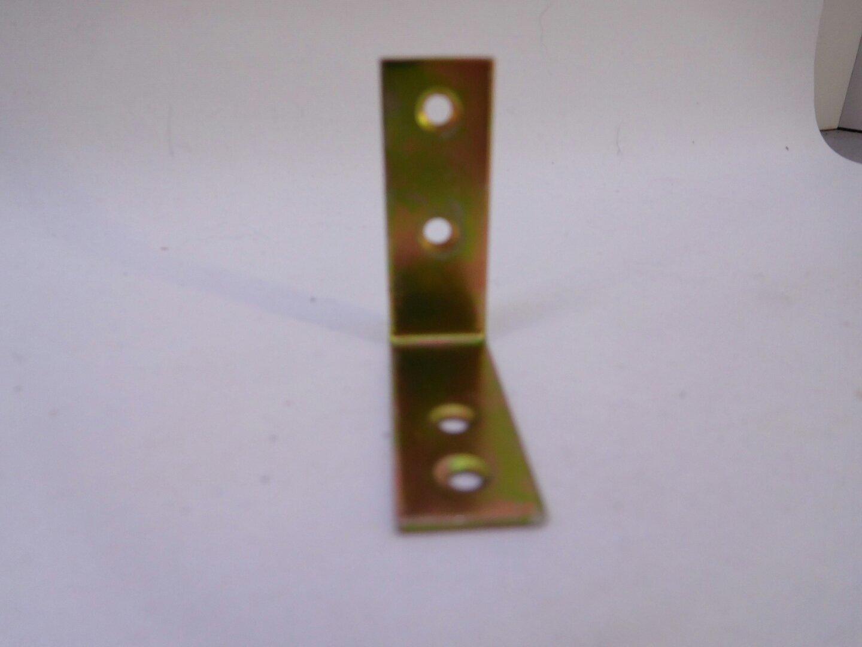 G 40 mm x 40 mm x 15 mm x 1,5 mm 10 Winkelverbinder verzinkt Bauwinkel