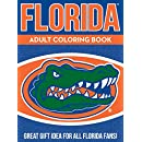 NCAA Florida Gators Unisex Adult Coloring Bookncaa Adult Coloring Book, Blue, 96 Coloring Pages