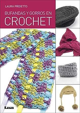 Amazon.com: Bufandas y gorros en crochet (Spanish Edition