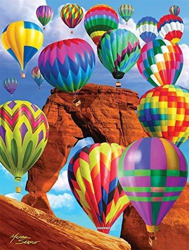 Balloon Blast 500 pc Jigsaw Puzzle SunsOut