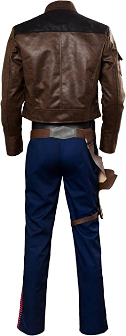 RedJade Solo: A Story Han Solo Outfit Chaqueta Suit Traje de ...