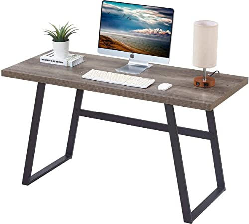 BON AUGURE Rustic Wood Computer Desk