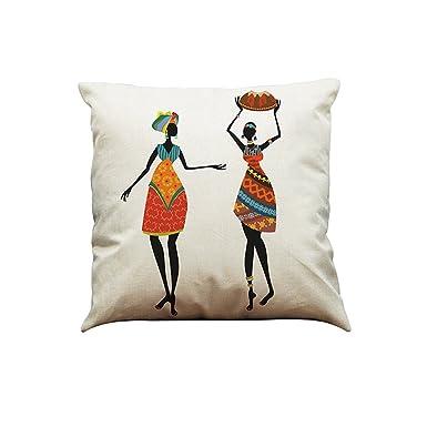 Rcool Fundas Cojines Conjunto Fundas Cojines Throw Pillow Cojines Decoracion Rellenos de cojin de Funda de Almohada,Funda de almohada de algodón ...