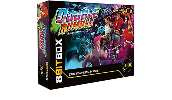 IELLO-8Bit Box-Double Rumble (VF), 51599: Amazon.es: Juguetes y juegos