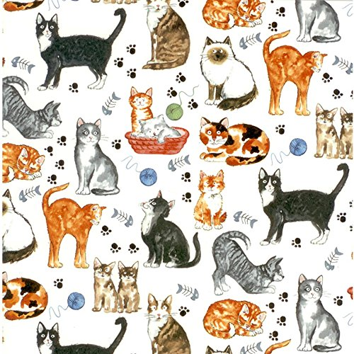 Fusible Decal - CATS Decal Fused Glass or Ceramics