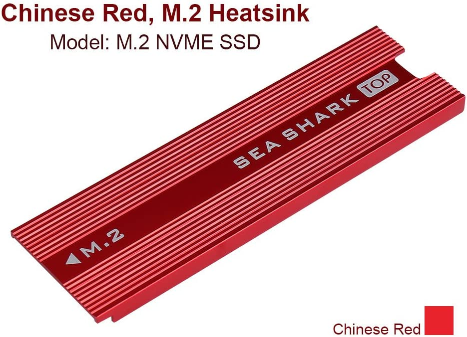 2 Pack M.2 NVMe SSD Heatsinks Laptop PC Memory Cooling Fin Aluminum Heatsinks Cooling Fin with Silicone Thermal Pad for PCIe NVMe M.2 Internal SSD 2pcs SmartElite M.2 NVME SSD Heatsinks