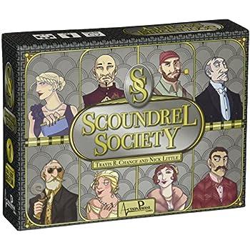 Scoundrel Society Board Game