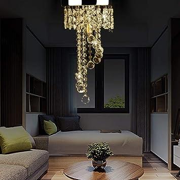 Innenbeleuchtung 5000 K Wohnzimmer Deckenleuchte Zoternen Pendelleuchte aus Kristallglas f/ür Schlafzimmer 3000 Regentropfen E14 B/üro Kronleuchter Moderne H/ängeleuchte