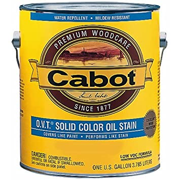 Cabot OVT Solid Color Exterior Oil Stain Household Wood