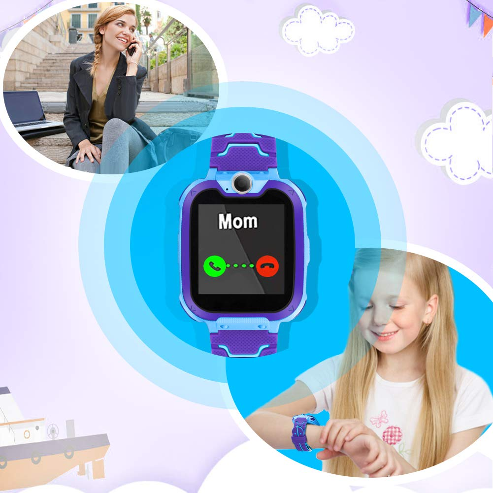 Kids Smart Watch for Kids SmartWatch with 1.54 Inch IPX5 Waterproof Color HD Display Touch Screen Digital Camera Game Music Learning Toys Call Watch 3-12 Ages Boy Girl Best Birthday Gift by GUANLV (Image #3)