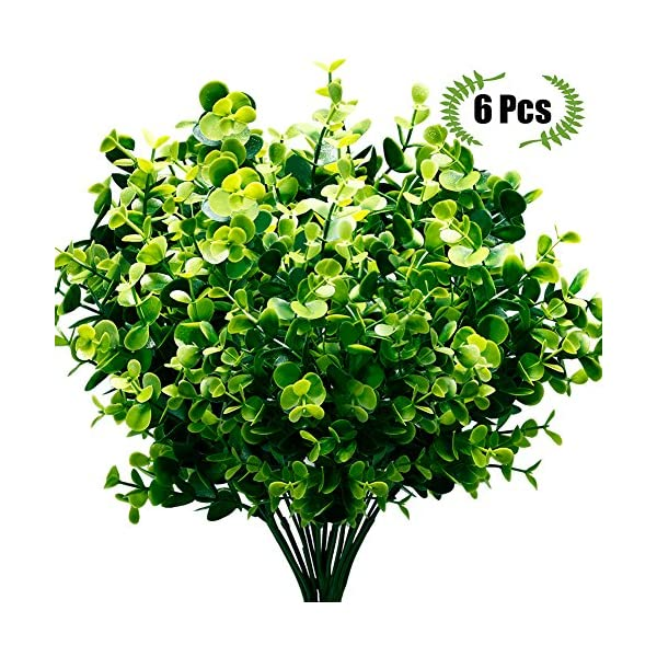 TEMCHY-Artificial-Fake-FlowersUV-Resistant-Faux-Greenery-Foliage-Plants-Shrubs-for-Garden-Wedding-Outside-Hanging-Planter-Farmhouse-Indoor-Outdoor-Decor