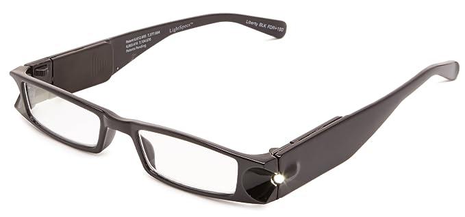 1d03c8ff61d Foster Grant Lightspecs Liberty Rectangular Reading Glasses