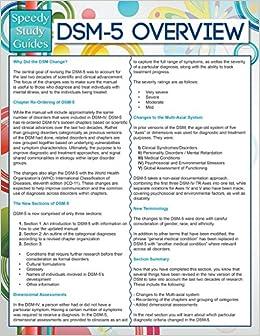 Book DSM-5 Overview (Speedy Study Guides)
