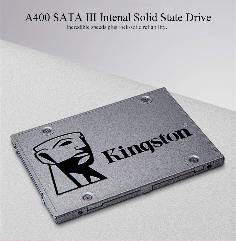 Alician Electronic for Kingston A400 SSD SATA III HDD Disco Duro ...
