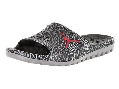 Nike Jordan Mens Jordan SuperFly Team Slide Gr BlackGym RedCool