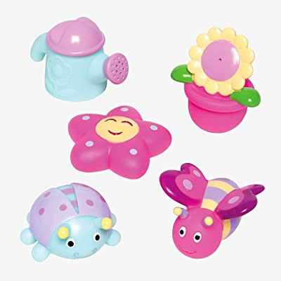 Elegant Baby Garden Party Squirtie Baby Bath Toys: Toys & Games