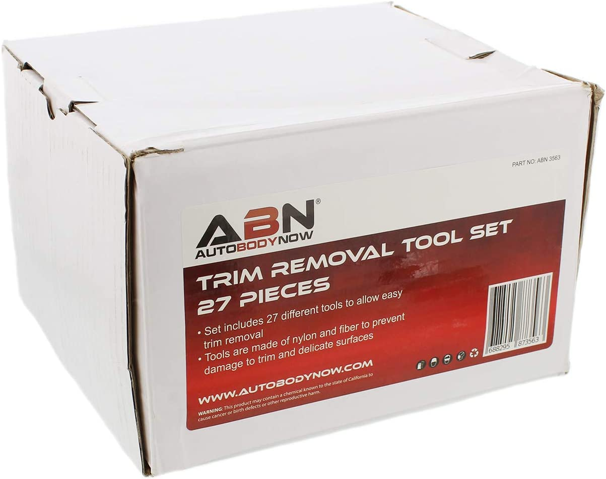 Truck Universal Vehicle Scrapers for Car SUV Bike ABN Automotive Trim and Panel Removal Tool Kit 27-Piece Set