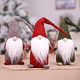 yanbirdfx Christmas Toy Handmade Christmas Gnome